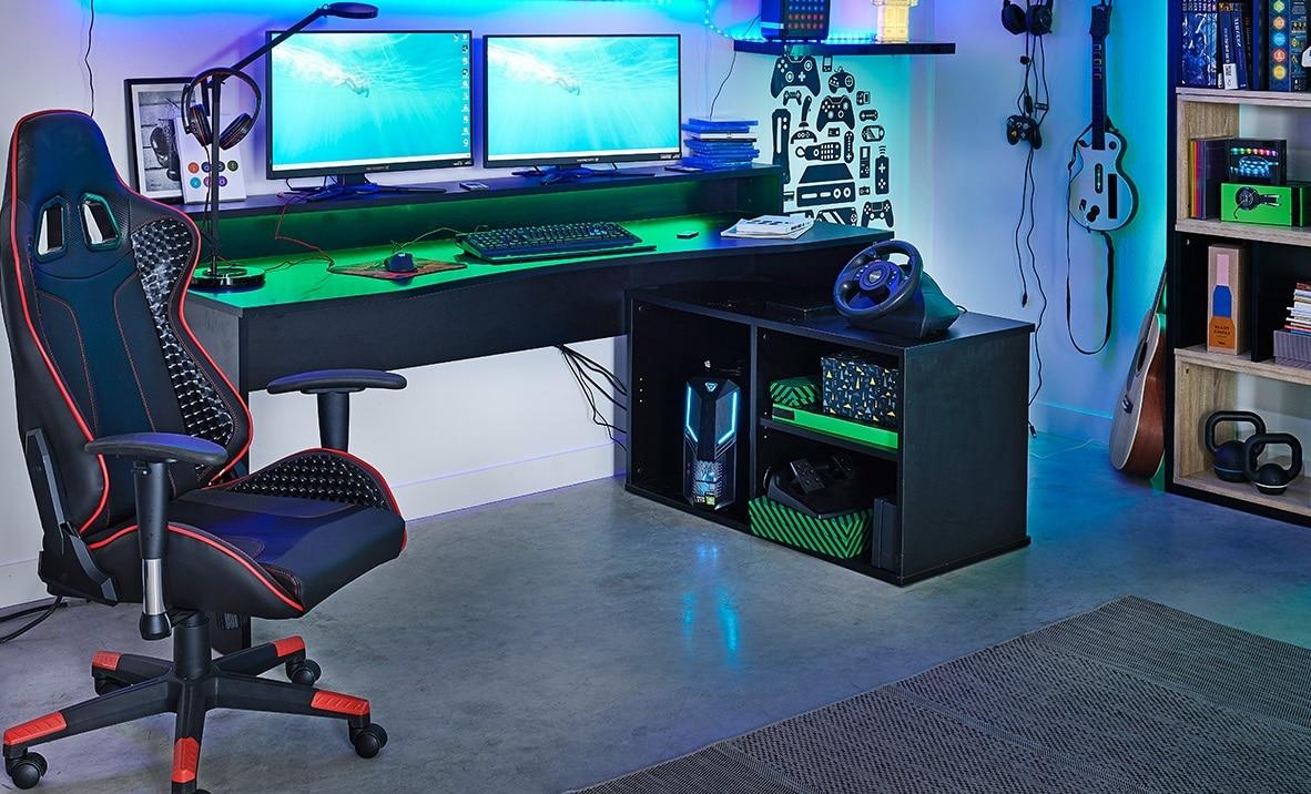 Une salle de jeu gaming