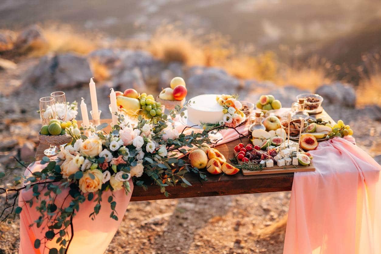 décoration de mariage accessoires