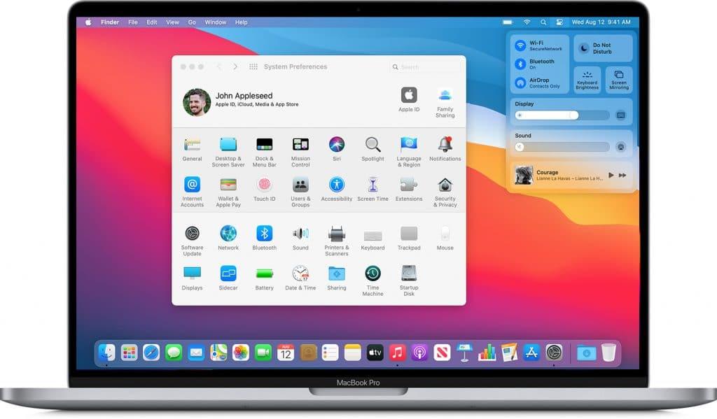 fichier page mac